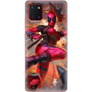 Силиконовый чехол BoxFace Samsung N770 Galaxy Note 10 Lite Woman Deadpool (38845-up2453)