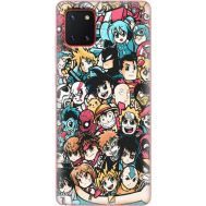 Силиконовый чехол BoxFace Samsung N770 Galaxy Note 10 Lite Anime Stickers (38845-up2458)