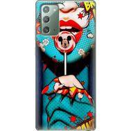 Силиконовый чехол BoxFace Samsung N980 Galaxy Note 20 Girl Pop Art (40568-up2444)