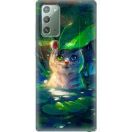 Силиконовый чехол BoxFace Samsung N980 Galaxy Note 20 White Tiger Cub (40568-up2452)