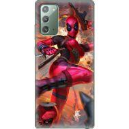 Силиконовый чехол BoxFace Samsung N980 Galaxy Note 20 Woman Deadpool (40568-up2453)