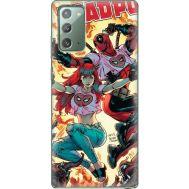 Силиконовый чехол BoxFace Samsung N980 Galaxy Note 20 Deadpool and Mary Jane (40568-up2454)
