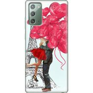 Силиконовый чехол BoxFace Samsung N980 Galaxy Note 20 Love in Paris (40568-up2460)