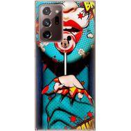 Силиконовый чехол BoxFace Samsung N985 Galaxy Note 20 Ultra Girl Pop Art (40573-up2444)