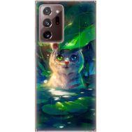 Силиконовый чехол BoxFace Samsung N985 Galaxy Note 20 Ultra White Tiger Cub (40573-up2452)