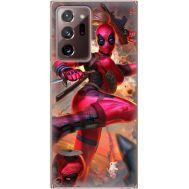 Силиконовый чехол BoxFace Samsung N985 Galaxy Note 20 Ultra Woman Deadpool (40573-up2453)