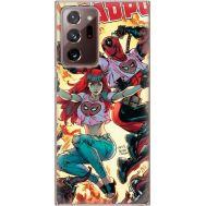 Силиконовый чехол BoxFace Samsung N985 Galaxy Note 20 Ultra Deadpool and Mary Jane (40573-up2454)