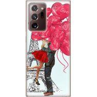 Силиконовый чехол BoxFace Samsung N985 Galaxy Note 20 Ultra Love in Paris (40573-up2460)