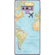 Силиконовый чехол BoxFace Samsung N960 Galaxy Note 9 Карта (34914-up2434)