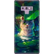 Силиконовый чехол BoxFace Samsung N960 Galaxy Note 9 White Tiger Cub (34914-up2452)