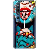 Силиконовый чехол BoxFace Xiaomi Mi 10 Pro Girl Pop Art (39437-up2444)