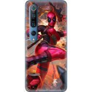 Силиконовый чехол BoxFace Xiaomi Mi 10 Pro Woman Deadpool (39437-up2453)