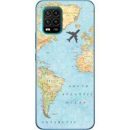 Силиконовый чехол BoxFace Xiaomi Mi 10 Lite Карта (39438-up2434)