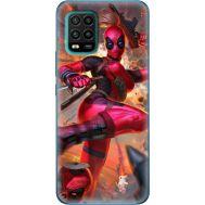 Силиконовый чехол BoxFace Xiaomi Mi 10 Lite Woman Deadpool (39438-up2453)