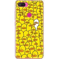 Силиконовый чехол BoxFace Xiaomi Mi 8 Lite Yellow Ducklings (35658-up2428)