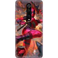Силиконовый чехол BoxFace Xiaomi Mi 9T / Mi 9T Pro Woman Deadpool (37376-up2453)