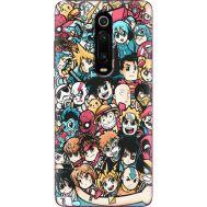 Силиконовый чехол BoxFace Xiaomi Mi 9T / Mi 9T Pro Anime Stickers (37376-up2458)