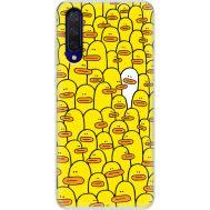 Силиконовый чехол BoxFace Xiaomi Mi 9 Lite Yellow Ducklings (38311-up2428)