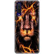 Силиконовый чехол BoxFace Xiaomi Mi 9 Lite Fire Lion (38311-up2437)