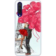 Силиконовый чехол BoxFace Xiaomi Mi 9 Lite Love in Paris (38311-up2460)