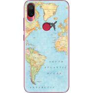 Силиконовый чехол BoxFace Xiaomi Mi Play Карта (36652-up2434)