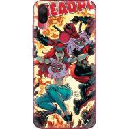 Силиконовый чехол BoxFace Xiaomi Mi Play Deadpool and Mary Jane (36652-up2454)