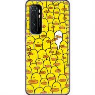 Силиконовый чехол BoxFace Xiaomi Mi Note 10 Lite Yellow Ducklings (39811-up2428)