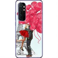 Силиконовый чехол BoxFace Xiaomi Mi Note 10 Lite Love in Paris (39811-up2460)