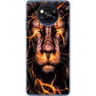 Силиконовый чехол BoxFace Xiaomi Poco X3 Fire Lion (41288-up2437)