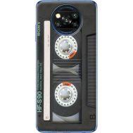 Силиконовый чехол BoxFace Xiaomi Poco X3 Старая касета (41288-up2445)