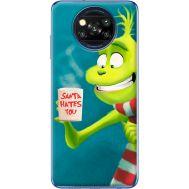 Силиконовый чехол BoxFace Xiaomi Poco X3 Santa Hates You (41288-up2449)
