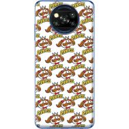 Силиконовый чехол BoxFace Xiaomi Poco X3 Pringles Princess (41288-up2450)