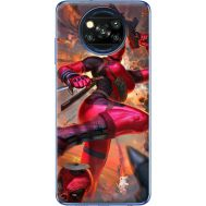 Силиконовый чехол BoxFace Xiaomi Poco X3 Woman Deadpool (41288-up2453)