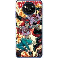 Силиконовый чехол BoxFace Xiaomi Poco X3 Deadpool and Mary Jane (41288-up2454)