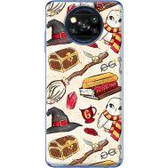 Силиконовый чехол BoxFace Xiaomi Poco X3 Magic Items (41288-up2455)