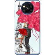 Силиконовый чехол BoxFace Xiaomi Poco X3 Love in Paris (41288-up2460)