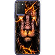 Силиконовый чехол BoxFace Xiaomi Poco M3 Fire Lion (41586-up2437)