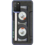 Силиконовый чехол BoxFace Xiaomi Poco M3 Старая касета (41586-up2445)