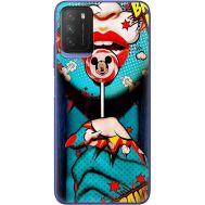 Силиконовый чехол BoxFace Xiaomi Poco M3 Girl Pop Art (41586-up2444)