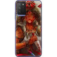 Силиконовый чехол BoxFace Xiaomi Poco M3 Принцесса Мононоке (41586-up2451)