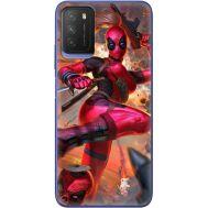 Силиконовый чехол BoxFace Xiaomi Poco M3 Woman Deadpool (41586-up2453)