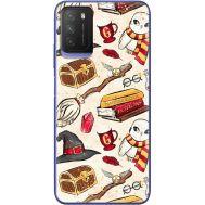 Силиконовый чехол BoxFace Xiaomi Poco M3 Magic Items (41586-up2455)