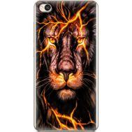 Силиконовый чехол BoxFace Xiaomi Redmi 4A Fire Lion (28935-up2437)