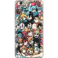 Силиконовый чехол BoxFace Xiaomi Redmi 4A Anime Stickers (28935-up2458)