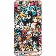 Силиконовый чехол BoxFace Xiaomi Redmi 5A Anime Stickers (32506-up2458)