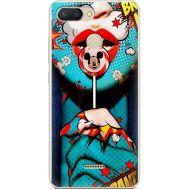 Силиконовый чехол BoxFace Xiaomi Redmi 6 Girl Pop Art (34858-up2444)