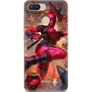 Силиконовый чехол BoxFace Xiaomi Redmi 6 Woman Deadpool (34858-up2453)