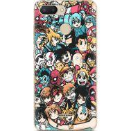 Силиконовый чехол BoxFace Xiaomi Redmi 6 Anime Stickers (34858-up2458)