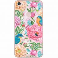 Силиконовый чехол BoxFace Xiaomi Redmi Note 5A Prime Birds in Flowers (32183-up2374)