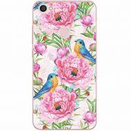 Силиконовый чехол BoxFace Xiaomi Redmi Note 5A Prime Birds and Flowers (32183-up2376)
